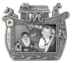 Malden Noahs Ark Baby Metal Picture Frame >>> To view further for this item, visit the image link. Baby Picture Frames, Baby Frame, Metal Picture Frames, Noahs Ark Nursery, Baby Nursery Decor, Nursery Themes, Nursery Ideas, Themed Nursery, Happy Baby