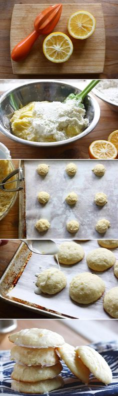 Why should chocolate chip cookies have all the fun? Try these Meyer lemon ricotta cookies.