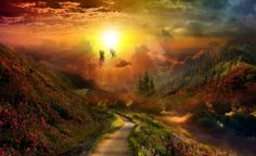 road and sunset - Google Search