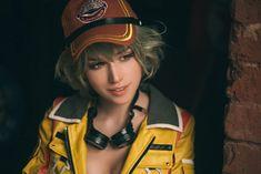 Final Fantasy XV: Cindy Aurum cosplay by Shirogane-sama Zombie Cosplay, Best Cosplay, Female Cosplay, Girl Costumes, Cosplay Costumes, Cindy Aurum, Final Fantasy Cosplay, Cindy Final Fantasy Xv, Female Demons