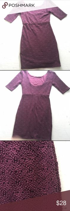 Free People Textured Low Back Bodycon Dress XS Cleaning out closet- open to offers- no trades- closet closes August 10th Free People Dresses