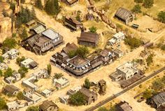 western town terrain
