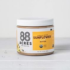 Vanilla Spiced Sunflower Seed Butter – 88 Acres Seed Butter, Almond Butter, Peanut Butter, Peanut Tree, Butternut Squash Soup, Sunflower Seeds, Organic Oil, Real Food Recipes, Drink Recipes