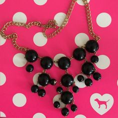 Black statement necklace Brand new statement necklace Accessories