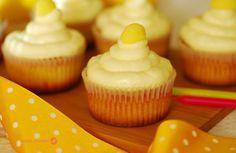 Cupcakes de limón.
