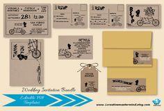 Wedding Invitation template printable DIY by 1CreativeMastermind