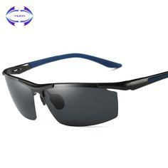 ae49e09f264 Aluminum Magnesium Men s Sunglasses Polarized Coating Mirror Sun Glasses