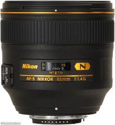 Nikon 85mm f/1.4 G