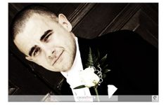 #Groom portrait - Photography by Crossfire Photography - www.crossfirephot... #LancashireWedding Photographers. Please do not crop or remove watermark. © Copyright Crossfire Photography 2013