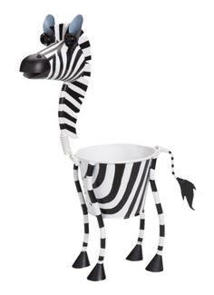 Mini Zebra Animal Planter