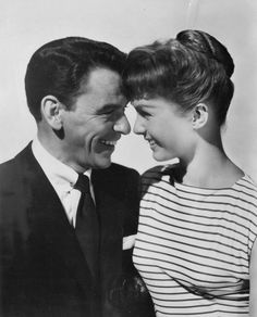 Frank Sinatra and Debbie Reynolds (1955)