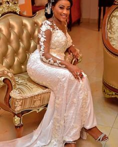 Gorgeous Aso Ebi Styles that will Wow You Best African Dresses, Latest African Fashion Dresses, African Attire, Kente Dress, Net Blouses, Bridal Gowns, Wedding Dresses, Aso Ebi Styles, Girl Hijab