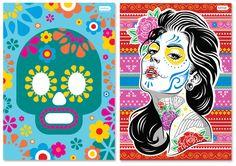 Día de Los Muertos + pôster para download!
