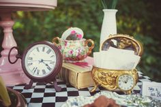 Alice in Wonderland Mad Tea Party ideas, photos and inspiration!