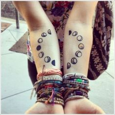 The Unique Moon Tattoo Designs And Meaning For Women On Arm