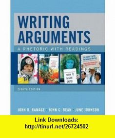 MyCompLab with Pearson eText -- Standalone Access Card -- for Writing Arguments  (8th Edition) (9780205681105) John D. Ramage, John C. Bean, June Johnson , ISBN-10: 0205681107  , ISBN-13: 978-0205681105 ,  , tutorials , pdf , ebook , torrent , downloads , rapidshare , filesonic , hotfile , megaupload , fileserve