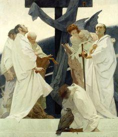 """ Ottavio Mazzonis "" Writers of the Gospels plus St. Traditional Paintings, Contemporary Paintings, Academic Art, Inspirational Artwork, Christian Art, Figure Painting, Art Inspo, Art Reference, Illustration Art"