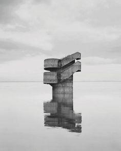 Malevich, Daniel Buren, Urban Psychosis: this week's art shows in pictures Photography Series, Amazing Photography, White Photography, Photography Magazine, Daniel Buren, Photoshop, Brutalist, Fantasy, French Artists