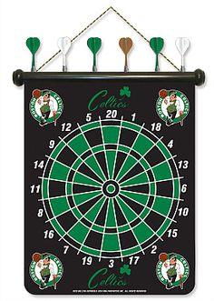 Boston Celtics Dart Board.