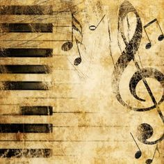 Customized Wallpaper - music notes
