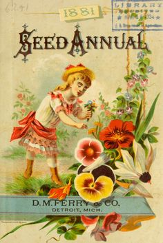1881 - Seed annual, 1881. - Biodiversity Heritage Library