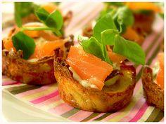 Smoked Salmon Potato Nests Recipe on Yummly