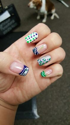 209 Best Seahawks Nails Images Seahawks Nails Seattle Seahawks