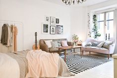 16 Small Space Rugs Ideas That Make a BIG Statement | Brit + Co
