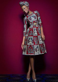 LENA HOSCHEK ~Latest African Fashion, African Prints, African fashion styles, African clothing, Nigerian style, Ghanaian fashion, African women dresses, African Bags, African shoes, Nigerian fashion, Ankara, Kitenge, Aso okè, Kenté, brocade. ~DKK