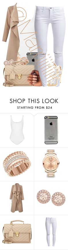 """""""Dressed to impress"""" by marriiiiiiiii ❤ liked on Polyvore featuring Wolford, Swarovski, Movado, Givenchy, Yves Saint Laurent, ONLY and Giuseppe Zanotti"""