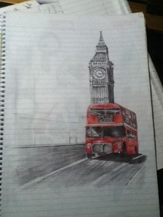 Big Ben, Drawings, Building, Travel, Viajes, Buildings, Sketches, Destinations, Traveling