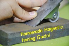 Picture of How to Make a Magnetic Honing Guide (For Sharpening Chisels & Hand Planes) | DIY Woodworking Tools #5