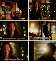 The Flash - Barry & Iris #1x17 #Season1 #Westllen - he was so hurt in that scene, and she recognized it right away!