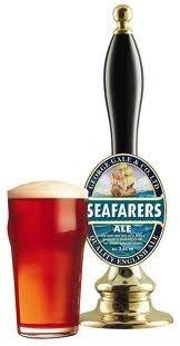 Cerveja Seafarers Ale, estilo Special/Premium Bitter, produzida por Fuller's, Inglaterra. 3.6% ABV de álcool.