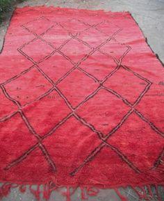 Moroccan Beni Ouarain (Ourain) tribal rug/carpet