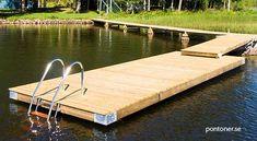 Floating Boat Docks, Farm Pond, Lake Dock, Backyard Layout, Pond Landscaping, Pontoon Boat, Ponds, Outdoor Rooms, Floating House