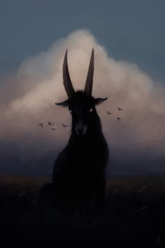 """Oracular Creatures And Arcane Spaces"": Shadowy Animals Infiltrate Desolate Spaces In Illustrations y Jenna Barton Horror Art, Animal Art, Illustration, Fantasy Art, Satanic Art, Art, Dark Art, Animal Illustration, Occult Art"