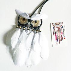 white owl dream catcher #dreamcatcher #beautifuldreamcatcher