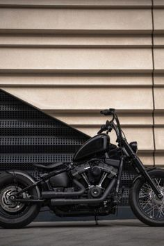 Harley-Davidson Street Bob 'Ape Hanger' by D-Star Customs