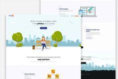 Another website project for US-based telecom company as an offshoot for their company website.  #web #webdesign #website #ui #uidesign #creative #minimal #digital #digitaldesign #telecom #oklahoma