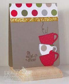 Merry Monday Challenge #174 using Stampin' Up! Paper Pumpkin July 2015. Debbie Henderson, Debbie's Designs