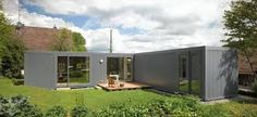 Image result for 2 40 ft container house