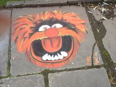 Some people REALLY have talent. (This is a chalk drawing)