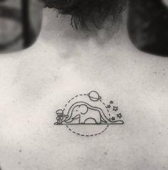 Resultado de imagen para tatuajes del principito elefante