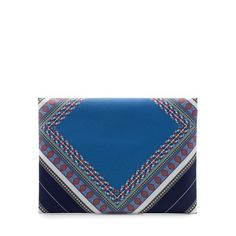 Image 2 of PRINTED CLUTCH BAG from Zara