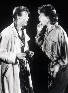 David Bowie and Mick Jagger, Dancing in the Streets, 1985
