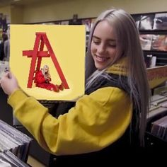 My mood Sofie billieeilish – My All Pin Page Billie Eilish, Queen, My Mood, Mellow Yellow, Vinyl Records, American, Girlfriends, Videos, Celebs