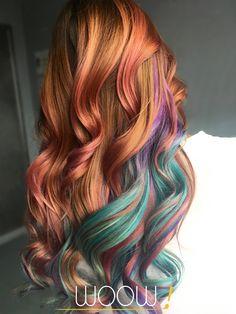 Авторское окрашивание волос балаяж, шатуш, омбре, брондирование, бронд, блонд