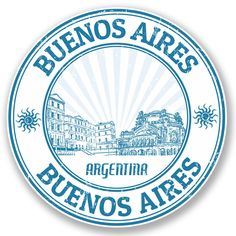 Buenos Aires City Argentina Grunge Rubber Stamp Home Decal Vinyl Sticker X -- Be sure to check out this awesome product. (This is an affiliate link and I receive a commission for the sales) Car Bumper Stickers, Window Stickers, Moleskine, Travel Stamp, Travel Logo, Travel Icon, Car Travel, Travel Luggage, Black Grunge