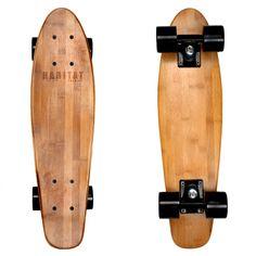 """Hollenbeck 22"""" Cruiser Bambus Skateboards - Geschenk für ihn - Sommer - Custom - Vintage - Holz - personalisieren - handgefertigt - Shortboard von HabitatImprint auf Etsy https://www.etsy.com/de/listing/202978380/hollenbeck-22-cruiser-bambus-skateboards"""
